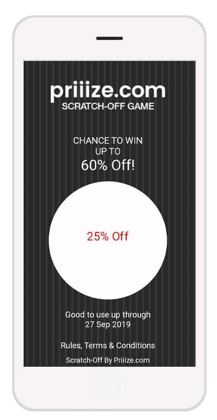 Black Stripe Free background image - Big Burger Virtual Scratch-Off Game by Priiize.com