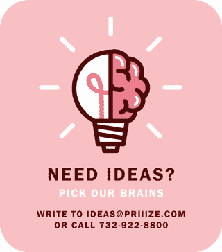 Need ideas? Pick our brains, free.