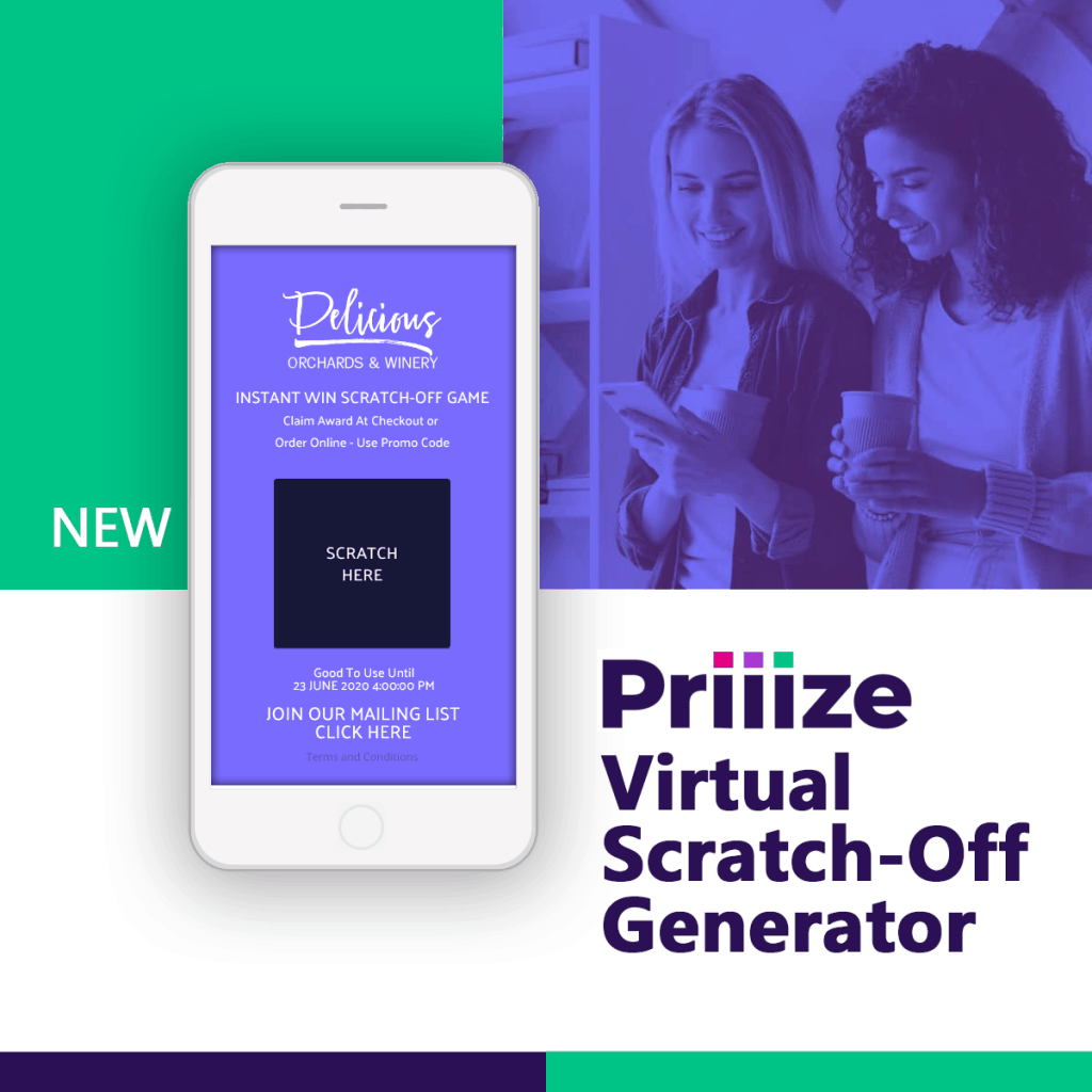 Price - Priiize Scratch-Offs Generator - 5 Campaigns Try Free, 1 Campaigns $11, 3 Campaigns $62, 101 Campaigns $895. Try free at Priiize.com.