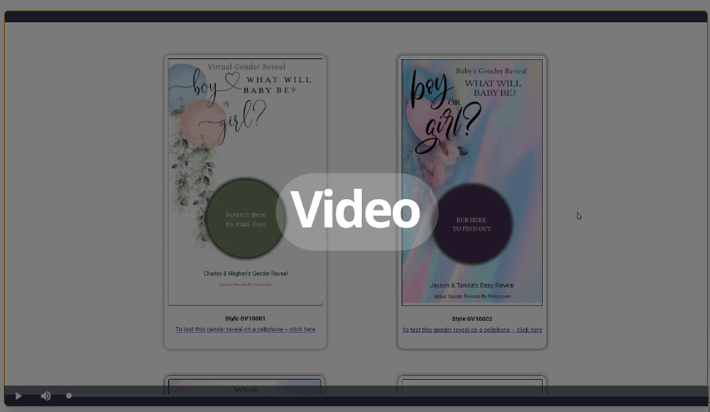 How to Make Virtual Gender Reveal Scratch-Offs using Priiize.
