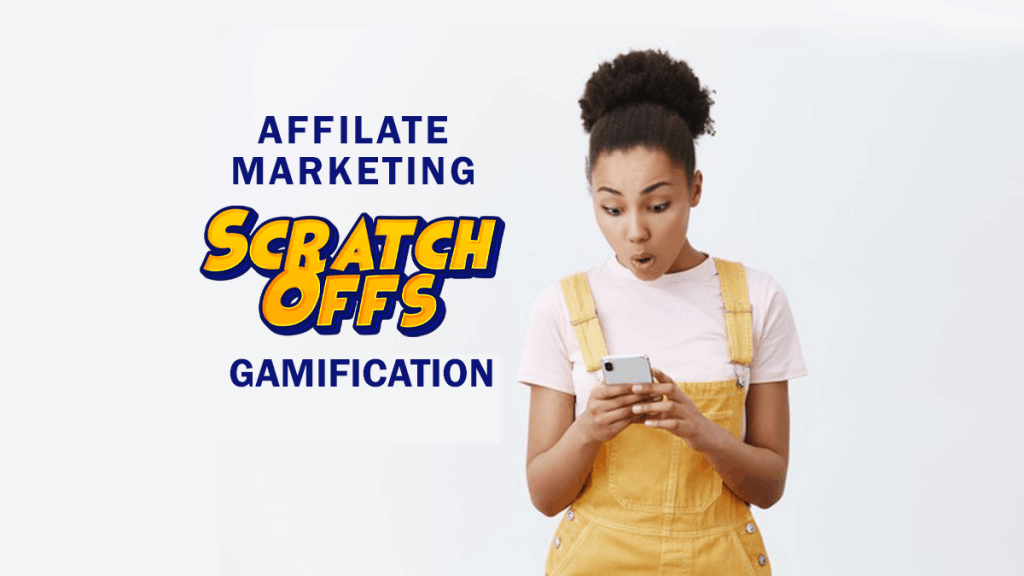 Example of Affiliate Marketing Gamification using Priiize Virtual Scratch-off Cards