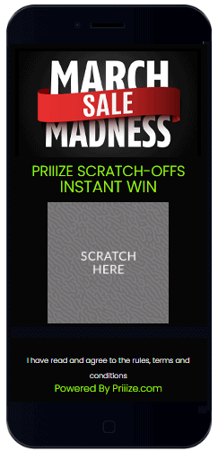 This demo game features the Scratch & Win+Prize Claim Form Template.
