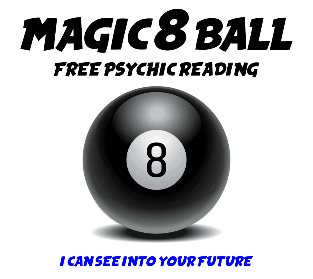 FREE PSYCHIC READING Magic 8 Ball Virtual Scratch-Offs