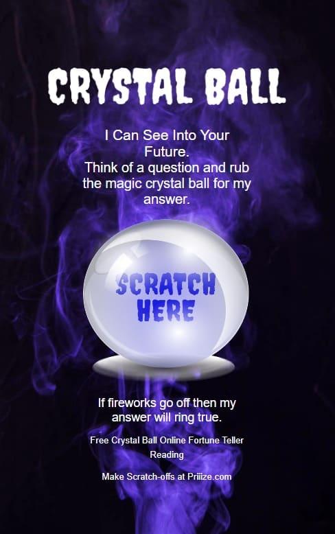 Crystal Ball Online - 100 Free Fortune Teller Readings