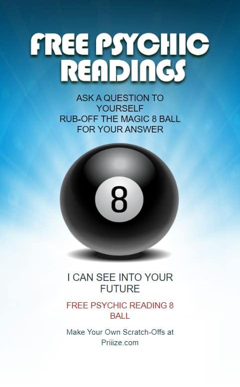MAGIC 8 BALL Free Psychic Readings