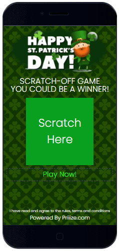 St. Patrick's Day Scratch-Off Game #2 - Free download - Priiize