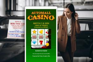 Auto Dealership Promotions – Digital Scratch-Off Games