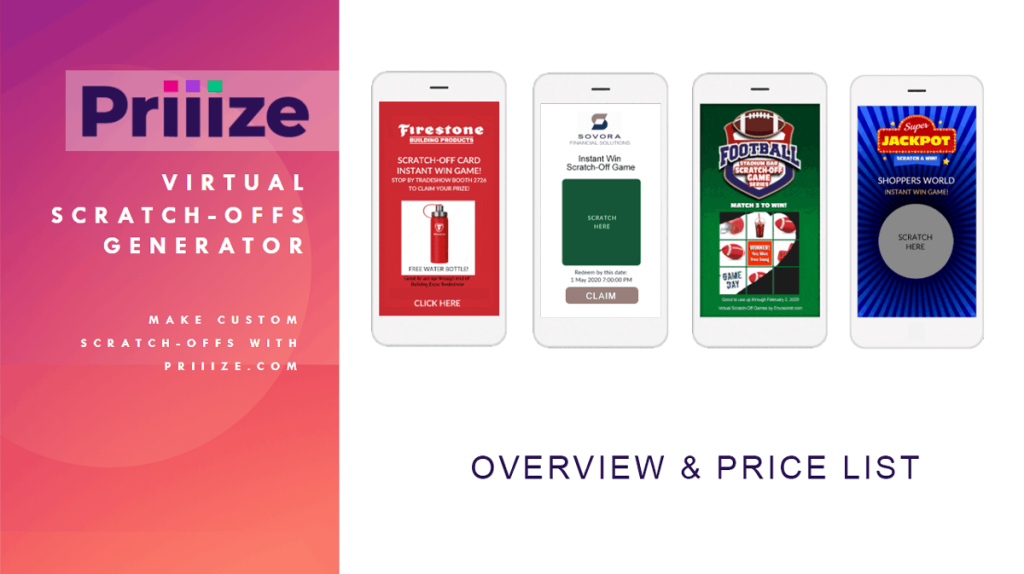 Priiize Scratch-Offs Overview and Price