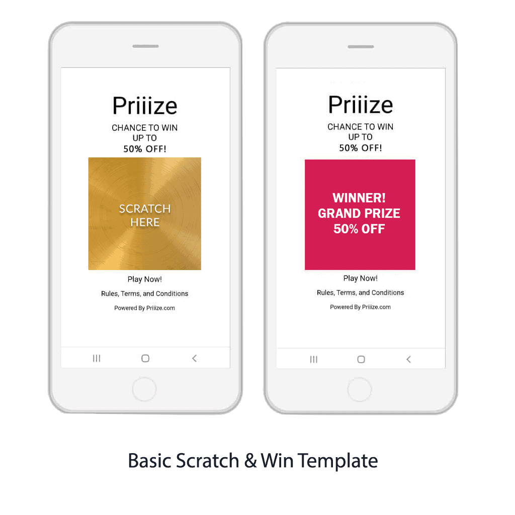 Basic Scratch & Win Template