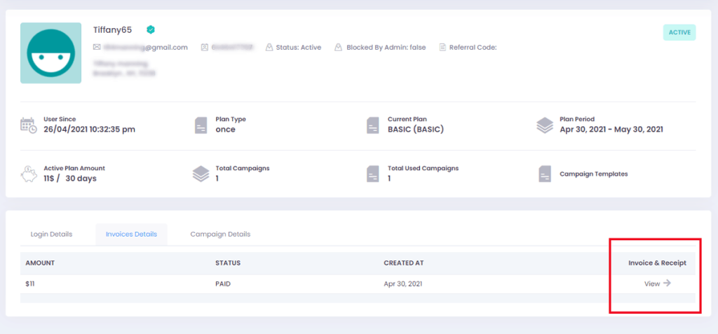 How to download and view your invoice and receipt - Priiize